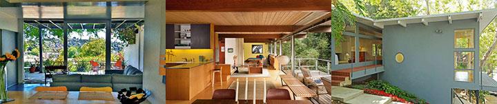 Midcentury modern homes in Los Angeles