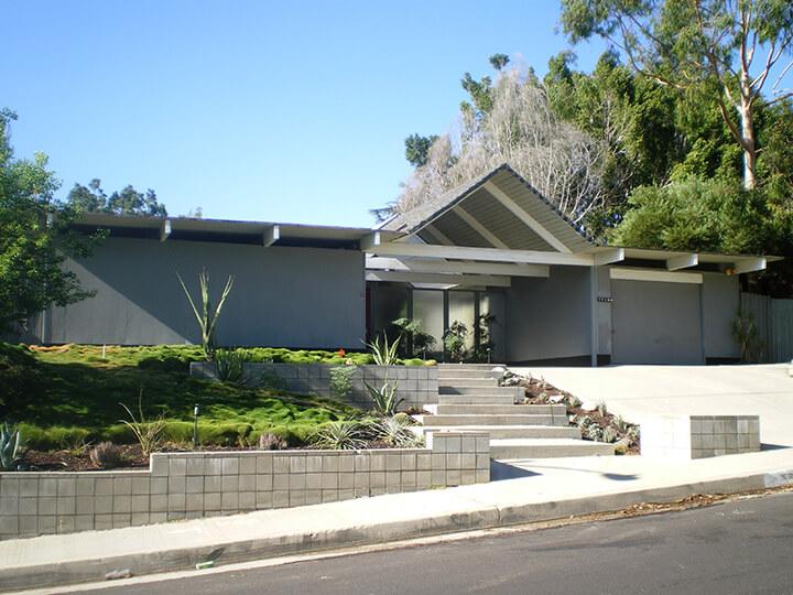 Eichler Homes in Granada Hills, CA