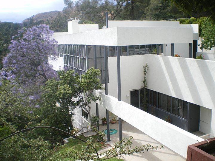 Lovell House by architect Richard Neutra in Los Feliz