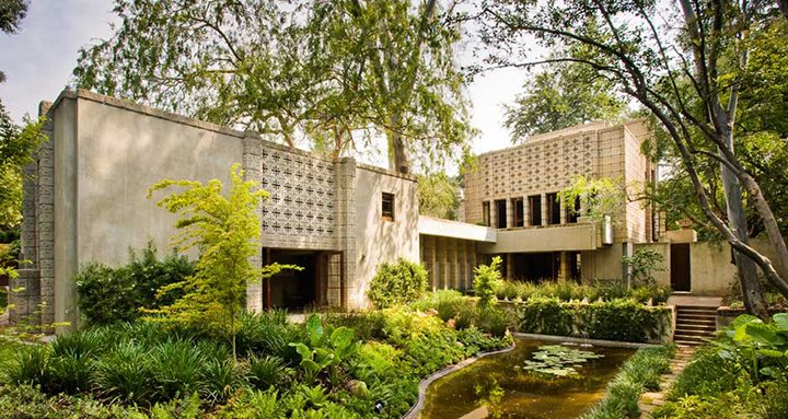 Millard House by Frank Lloyd Wright in Pasadena CA