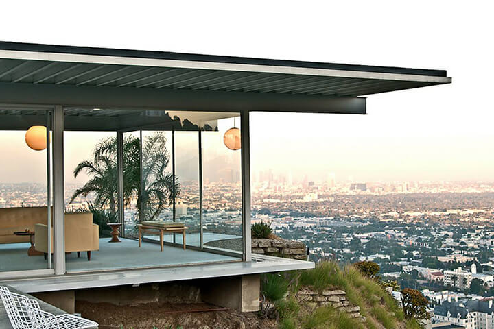 The Stahl House by Pierre Koenig