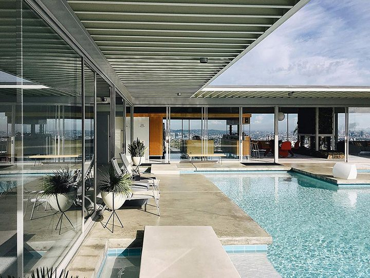 Hollywood Hills Case Study House No. 22 Stahl House Pierre Koenig
