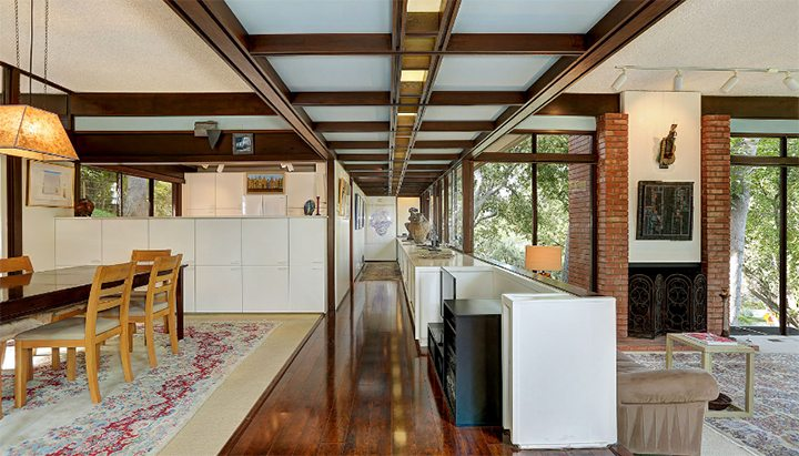 Classic Mid-Century Modern by Buff and Hensman known as the Dubnoff Residence in Pasadena