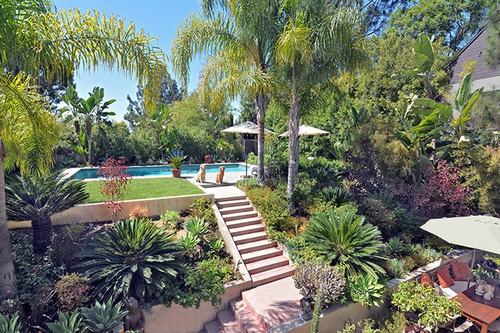 Traditional home for sale in the Moreno Highlands of Silver Lake, CA