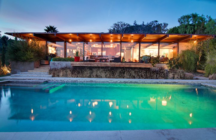 The Wong House by archtiects Buff and Hensman For Lease in Los Feliz