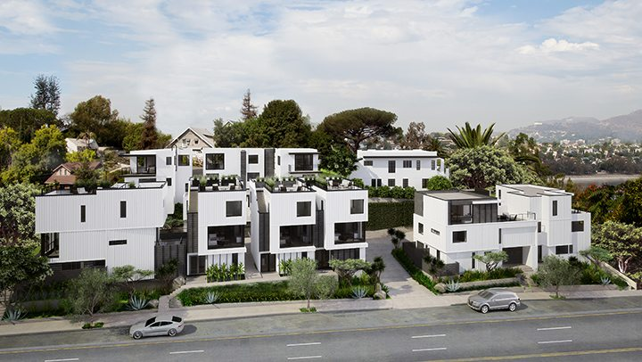 Small Lot development in Silver Lake, CA