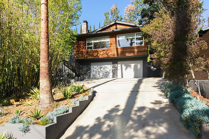bohemian mid century modern home in the echo park hills - Modern Home For Sale