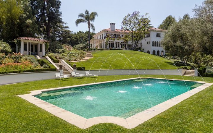 Cecil B DeMille Estate For Sale in Laughlin Park Los Feliz