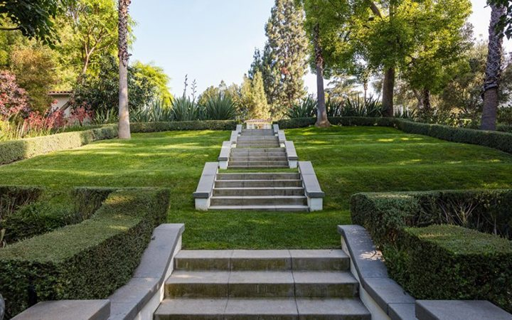 Cecil B DeMille's Estate in Laughlin Park in Los Feliz