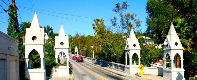 Franklin Hills Los Angeles Shakespeare Bridge