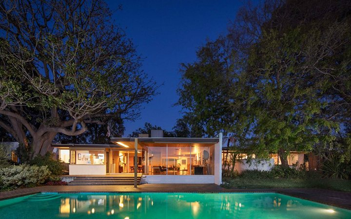 Richard Neutra's The Schaarman House For Sale in the Hollywood Hills