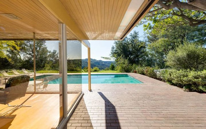 Richard Neutra's The Schaarman House in the Hollywood Hills