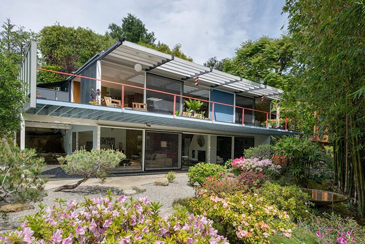 Wohlstetter House by Architect Josef Van de Kar in Laurel Canyon