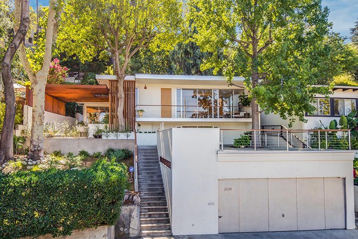 Alvin Lustig The Thomas Residence Mid-Century Modern Architecture in Silver Lake