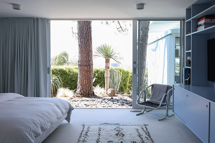 Rooney Mara Mid Century Modern Home The Oaks Los Feliz