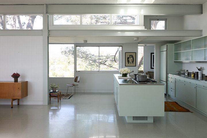 Actress Rooney Mara Mid Century Modern Home For Sale in Los Feliz