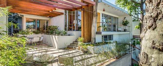Alvin Lustig The Thomas Residence Mid-Century Modern Home in Silver Lake