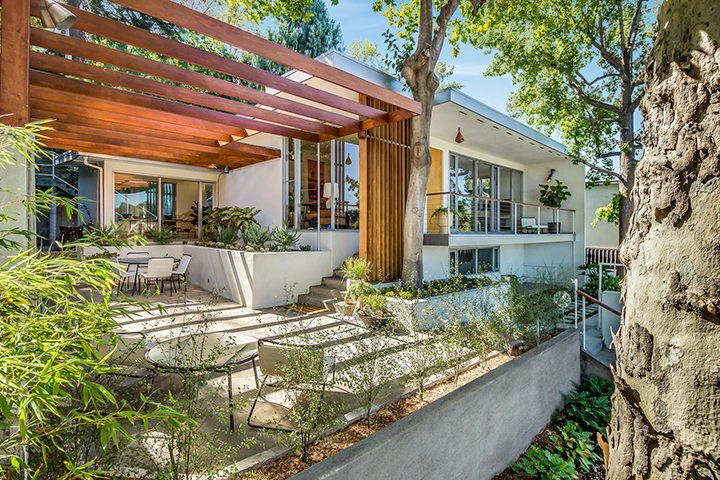 Alvin Lustig The Thomas Residence Mid-Century Modern Home in Silver Lake