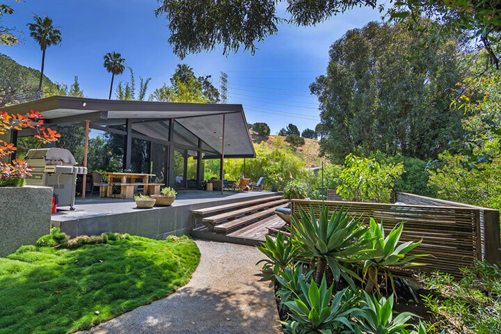 Mid Century Home For Sale Hollywood Hills