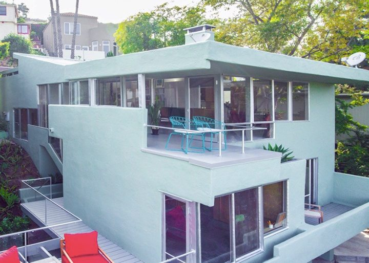 Rudolph Schindler Midcentury Modern Home For Sale Silver Lake CA