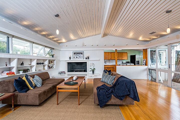 Midcentury Modern Hollywood Hills Home For Sale