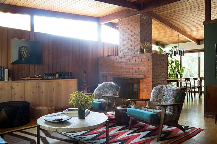 Anna Pomerantz's Mid Century Home