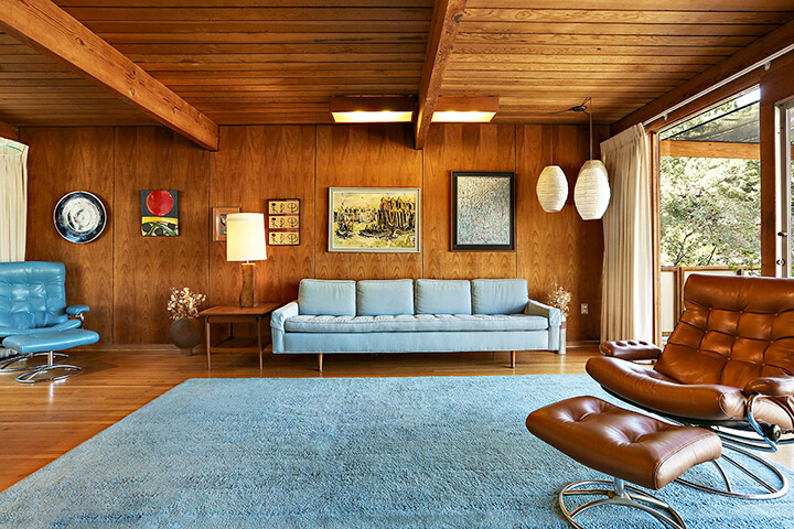 Groovy Midcentury Time Capsule On The Market For The Firs