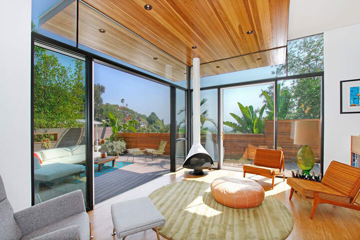 Modern House and Studio for Sale in Silver Lake