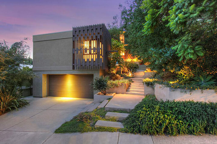Modern House and Studio for Sale in Silver Lake CA