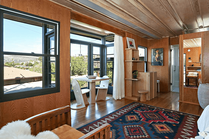 Rudolf Schindler Sachs Apartments Silver Lake CA
