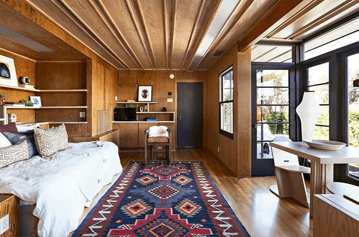 Rudolf Schindler Sachs Apartments Studio For Lease