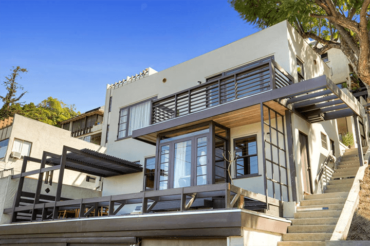 Rudolf Schindler Sachs Apartments Studio For Lease in Silver Lake