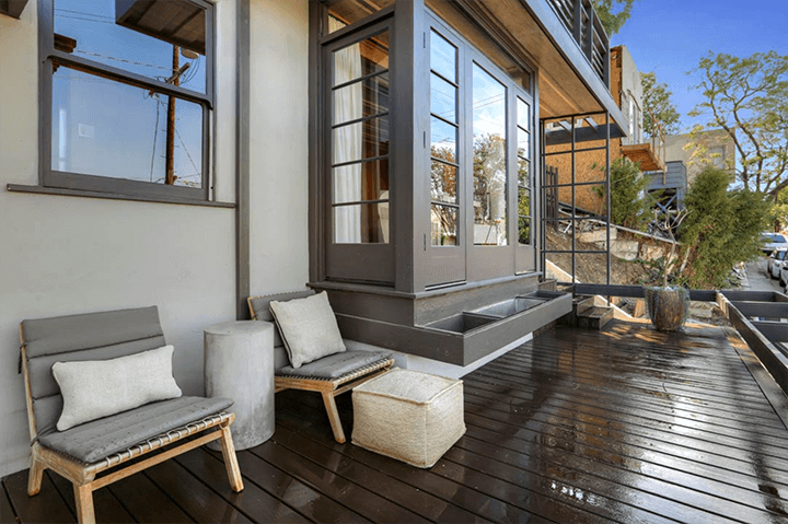 Sachs Apartments by Rudolf Schindler for Rent in Silver Lake CA