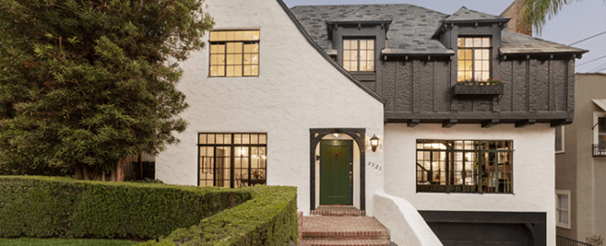 English Tudor Revival For Sale Hollywood Hills