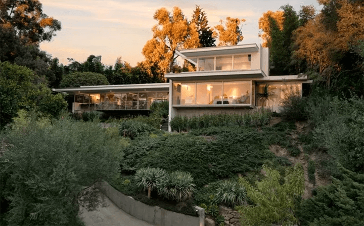 Hammerman House by Richard Neutra For Sale in Bel Air