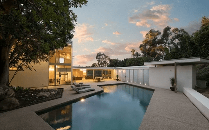 Hammerman House by Neutra For Sale in Bel Air, LA