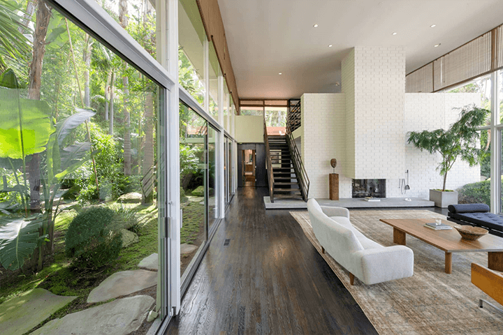 Midcentury Home by Robert Skinner in the Trousdale Estates