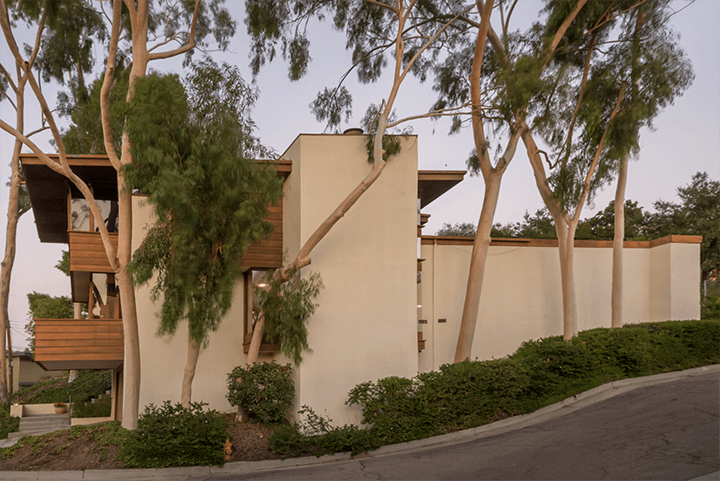 Midcentury Modern Rex Lotery Spanner Residence