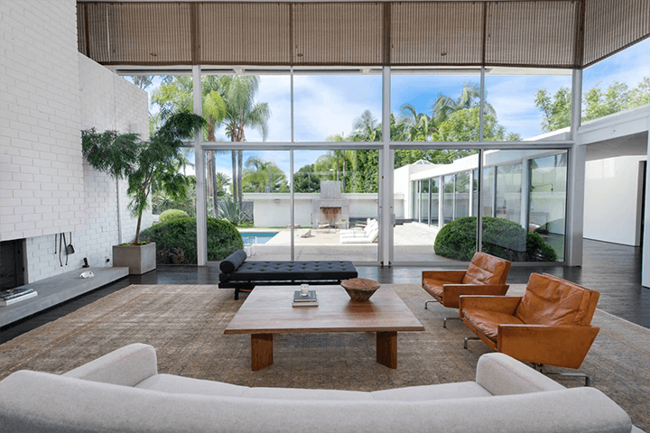 Midcentury Home by Robert Skinner in the Trousdale Estates in Beverly Hills