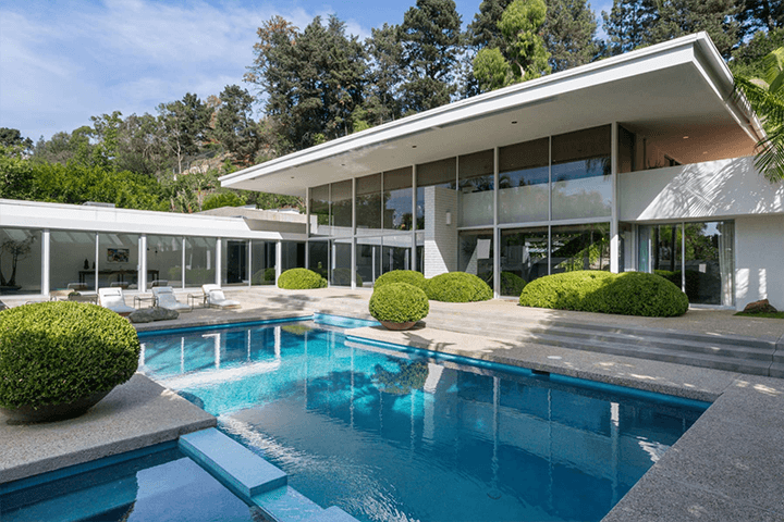 Midcentury by Robert Skinner Trousdale Estates