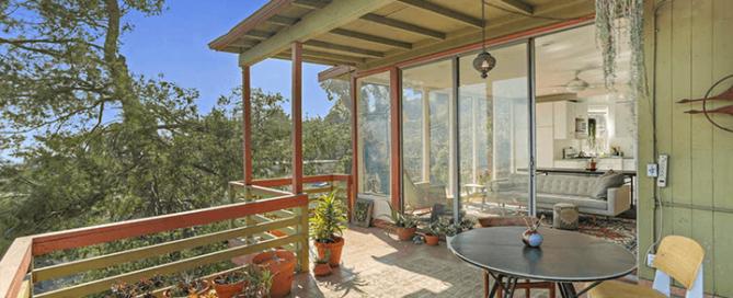 Midcentury Tree House For Sale Mt Washington