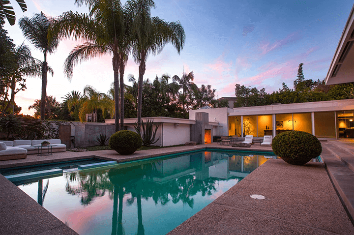 Robert Skinner Midcentury For Sale in the Trousdale Estates, Los Angeles