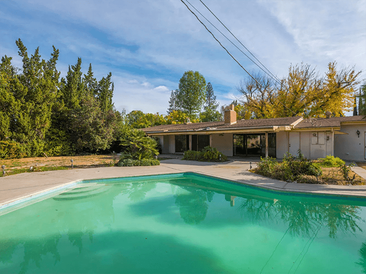 Woodland Hills Mid Century Modern Fixer For Sale