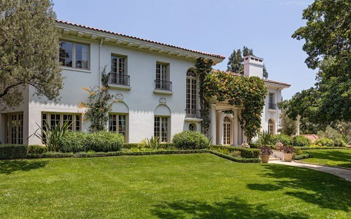 Cecil B. DeMille Estate in Laughlin Park, Los-Feliz