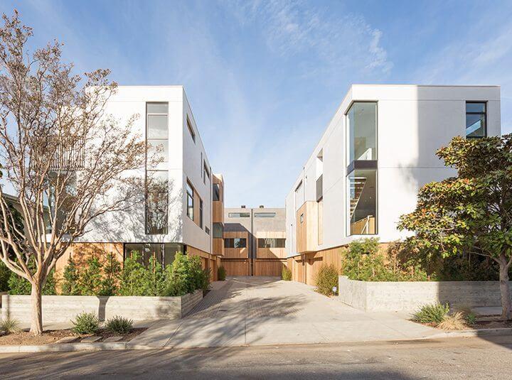 Habitat 6 Modern Architectural Homes in Los Feliz