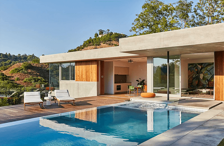 Jason Lev's Newly Built Modern Guest House