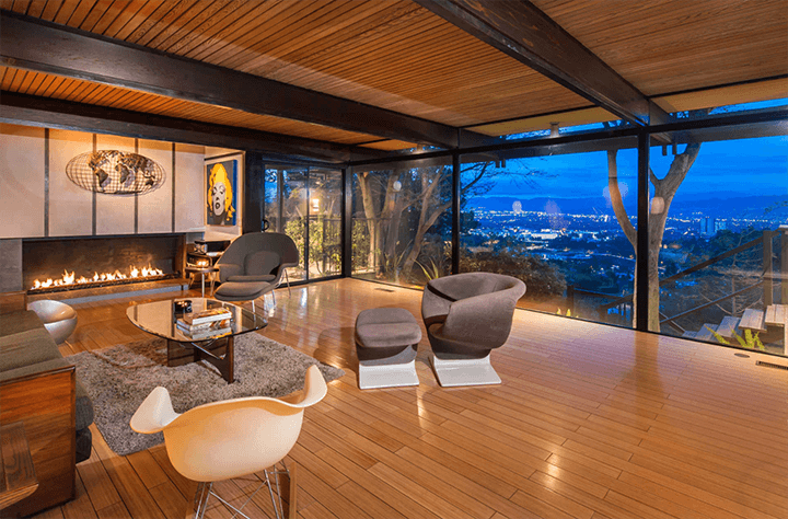 Midcentury Modern by Buff and Hensman For Sale in the Hollywood Hills