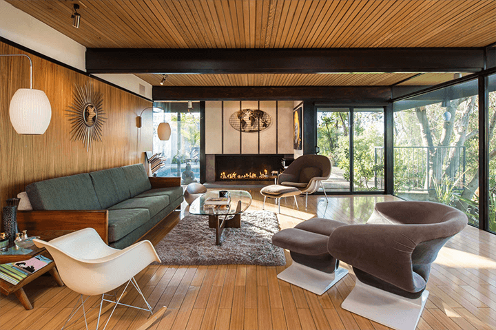 Buff and Hensman Midcentury Modern Home For Sale Los Angeles