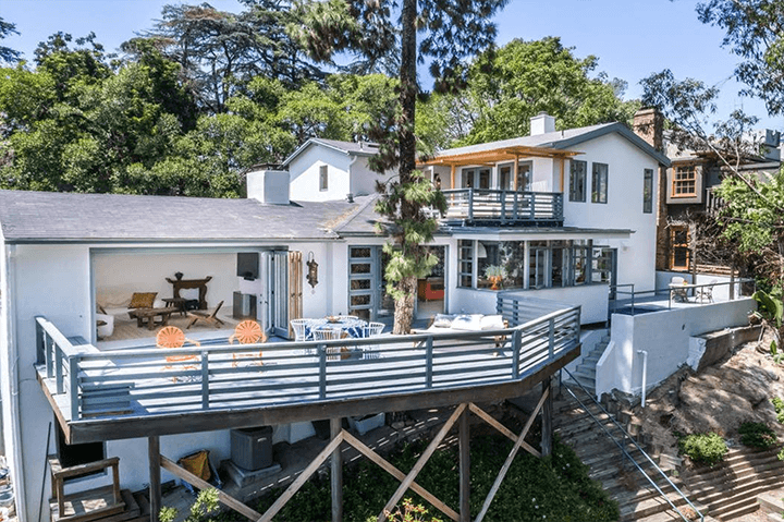 Dana Hollister's Contemporary Home For Sale in Silver Lake CA