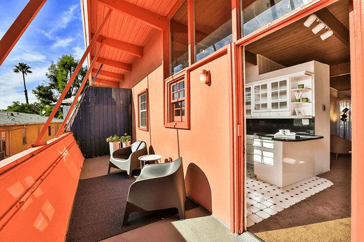 Unit For Sale in West Hollywood's historic Hollywood Riviera by Ed Fickett